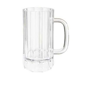 GET Enterprises 00087-PC-CL Polycarbonate Beer Mug 20 oz. - 1 doz