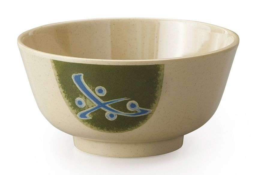 GET Enterprises 0172-TD Japanese Traditional Melamine Bowl 12 oz.