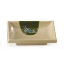 GET Enterprises 025-TD Japanese Traditional Melamine Sauce Dish 2 oz.