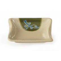 GET Enterprises 026-TD Japanese Traditional Melamine Sauce Dish 0.5 oz.