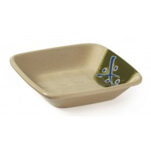 GET Enterprises 035-TD Japanese Traditional Melamine Square Dish 4 oz.