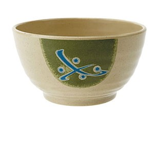 GET Enterprises 207-45-TD Japanese Traditional Melamine Bowl 10.5 oz.