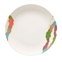 GET Enterprise  207-5-CO Contemporary Round Plate - 1 doz