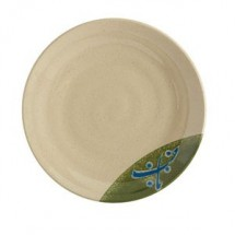 GET Enterprises 207-70-TD Japanese Traditional Round Melamine Plate 7""