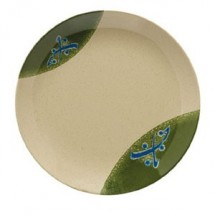 GET Enterprises 208-5-TD Japanese Traditional Melamine Round Plate 12""