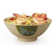 GET Enterprises 257-TD Japanese Traditional Melamine Bowl 15 oz. - 1 doz