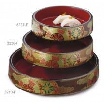 GET Enterprises 3238-F Fuji Japanese Sushi Box 9-1/2""