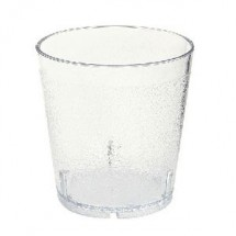 GET Enterprise  6610-6-CL Clear 10 Oz. Juice Tumbler 6 Doz