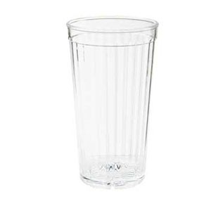 GET Enterprises 8822-1-CL 22 oz. Clear Spektrum Tumbler - 6 doz