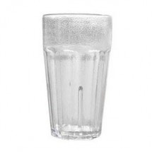 GET Enterprise  9921-1-CL Clear 20 oz. Textured Beverage Tumbler - 6 doz