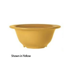 GET Enterprises B-105-TY Diamond Mardi Gras Tropical Yellow Melamine Bowl 10 oz. - 4 doz