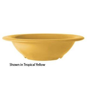 GET Enterprises B-127-TY Diamond Mardi Gras Tropical Yellow Melamine Bowl 12 oz. - 2 doz
