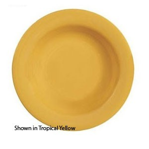 GET Enterprises B-139-TY Diamond Mardi Gras Tropical Yellow Melamine Bowl 13 oz. - 2 doz