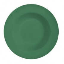 GET Enterprises B-1611-FG Diamond Mardi Gras Rainforest Green Melamine Bowl 16 oz. - 1 doz