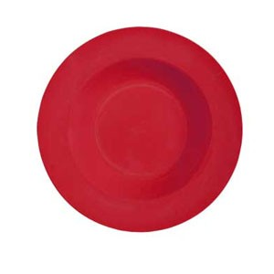 GET Enterprises B-1611-RED Red Sensation Melamine Bowl 16 oz. - 1 doz