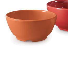 GET Enterprises B-45-PK Diamond Harvest Pumpkin Bowl 10 oz. - 2 doz