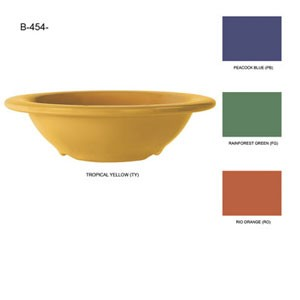 GET Enterprise  B-454-SQ Squash 10 oz. Bowl - 2 doz