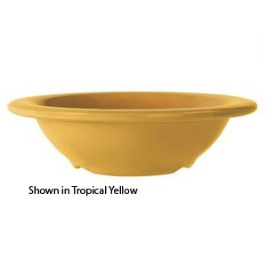 GET Enterprises B-454-TY Diamond Mardi Gras Tropical Yellow Melamine Bowl 4.5 oz. - 4 doz