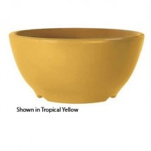 GET Enterprises B-525-PK Diamond Harvest Pumpkin Melamine Bowl 16 oz. - 2 doz