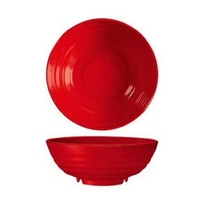 GET Enterprises B-787-RSP Red Sensation Melamine Bowl 1.1 Qt. - 1 doz