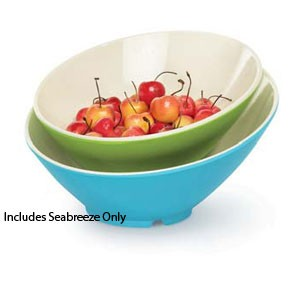 GET Enterprise  B-788-SE Seabreeze 16 oz. Cascading Bowl - 1/2 doz