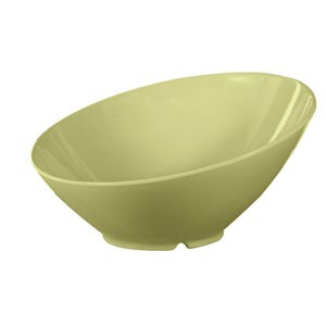 GET Enterprise  B-789-AV Avocado 1.1 qt. Cascading Bowl - 1/2 doz