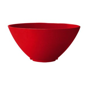 GET Enterprises B-791-RSP Red Sensation Round Bowl 4 Qt. - 1/2 doz