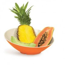 GET Enterprises B-792-ST Keywest Sunset Cascading Melamine Bowl 24 oz. - 1/2 doz