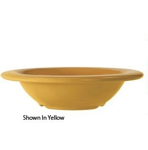 GET Enterprises B-86-DI Diamond Ivory Melamine Bowl 8 oz.- 4 doz