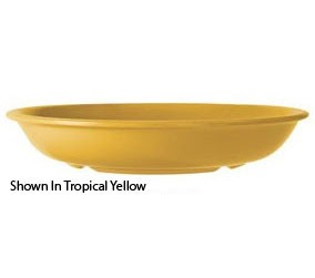 GET Enterprises B-875-TY Diamond Mardi Gras Tropical Yellow Melamine Bowl 27.9 oz. - 1 doz