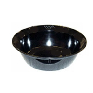 GET Enterprises BB-155-6-BK Sonoma Black Serving Melamine Bowl 6 Qt. - 1/2 doz