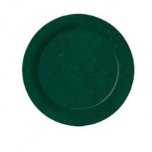 "GET Enterprises BF-010-KG Kentucky Green Melamine Plate 10"" - 1 doz"
