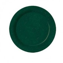 "GET Enterprises BF-090-KG Kentucky Green Melamine Plate 9"" - 2 doz"