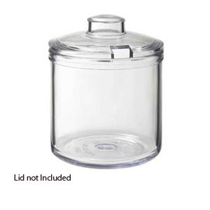 GET Enterprises CD-8-B-2-CL Clear Condiment Jar 8 oz. - 2 doz
