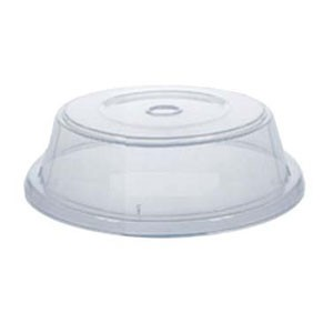 "GET Enterprises CO-108-CL Clear Cover for Round Plate 11.4"" to 12"" - 1 doz"
