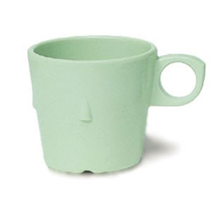 GET Enterprise  DC-101-G SuperMel 7.5 Oz. Green Conic Stacking Cup - 4 doz
