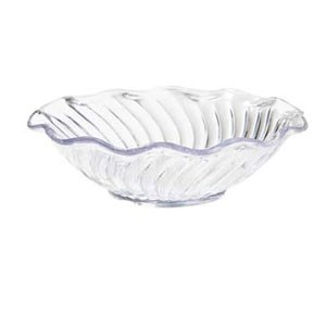 GET Enterprises DD-80-CL Dessert Time Clear Dessert Dish 10 oz. - 4 doz