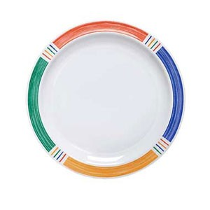 "GET Enterprise  DP-906-BA Diamond Barcelona 6-1/2"" Salad Plate - 4 doz"