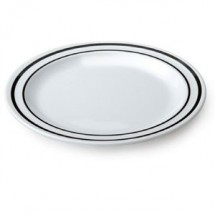 "GET Enterprise DP-909-AT Creative Table Ascot Round Plate 9"" - 2 doz"