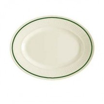 "GET Enterprises EP-10-K Kingston  Oval Platter 9-1/4"" - 2 doz"