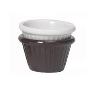 GET Enterprise  F-645 4 Oz. Wide Fluted Ramekin - 4 doz