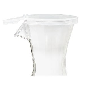 GET Enterprises LID-BW-1050-CL Replacement Lid for Polycarbonate Decanter 17 oz. - 2 doz