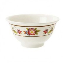 GET Enterprises M-0161-TR Tea Rose Melamine Bowl 6 oz.