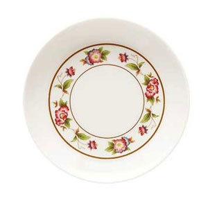 GET Enterprises M-028-TR Tea Rose Melamine Sauce Dish 1 oz.