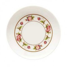 GET Enterprises M-032-TR Tea Rose Melamine Sauce Dish 1.5 oz.