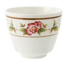 GET Enterprises M-077C-TR Tea Rose Melamine Tea Cup 5.5 oz.