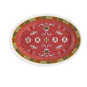 GET Enterprises M-4040-L Longevity Oval Platter 10""