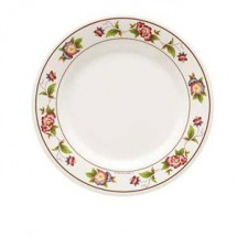 GET Enterprises M-412-TR Tea Rose Melamine Round Plate 6""