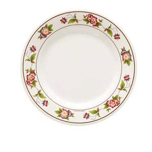 GET Enterprises M-417-TR Tea Rose Round Plate 14""