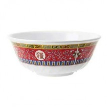 GET Enterprises M-606-L Longevity Melamine Fluted Bowl 24 oz. - 1 doz